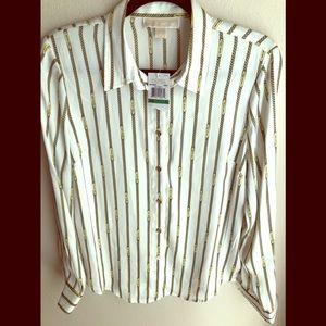BRAND NEW Michael Kors blouse